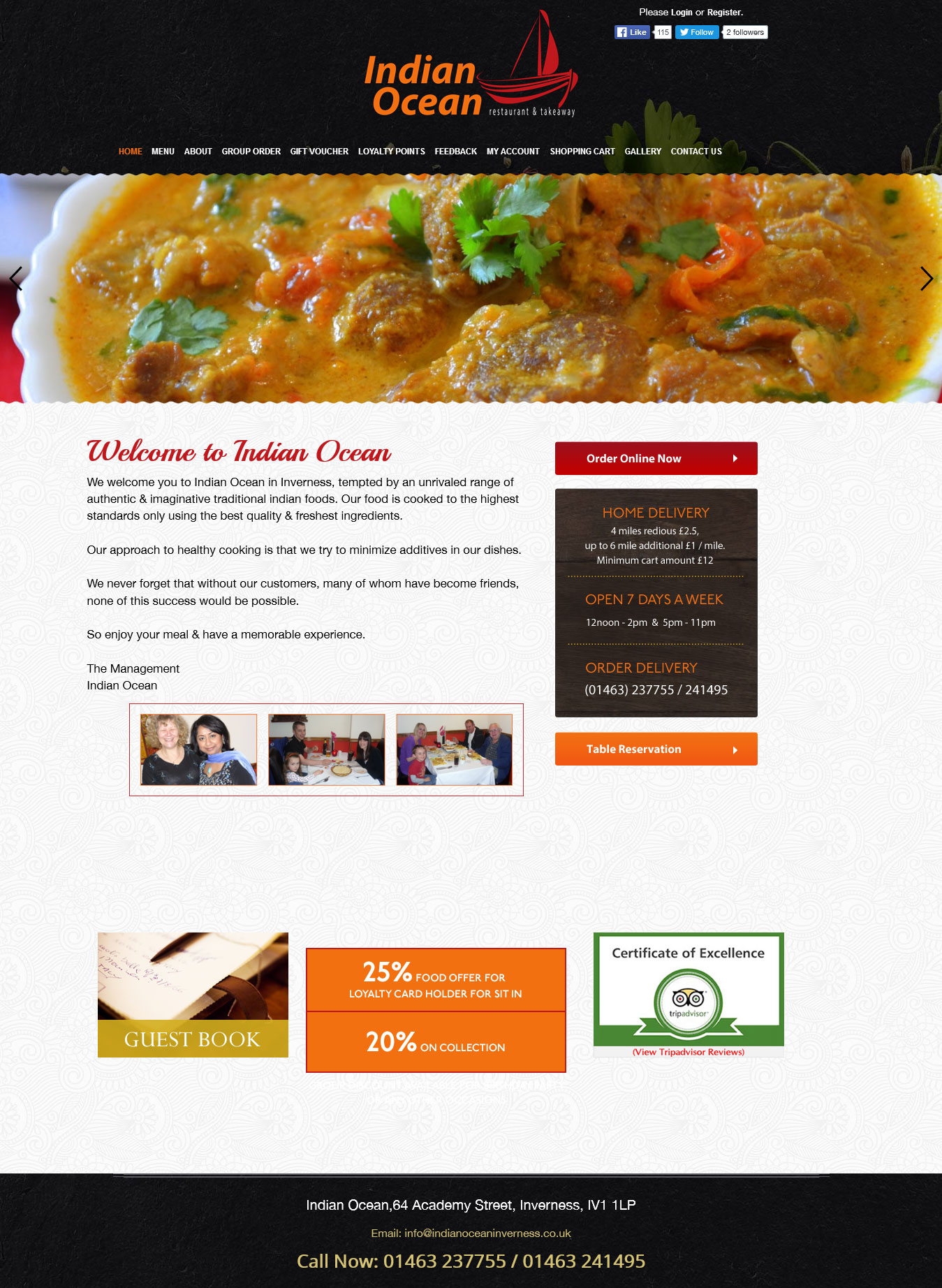 Takeaway Restaurant Online Ordering System Epos