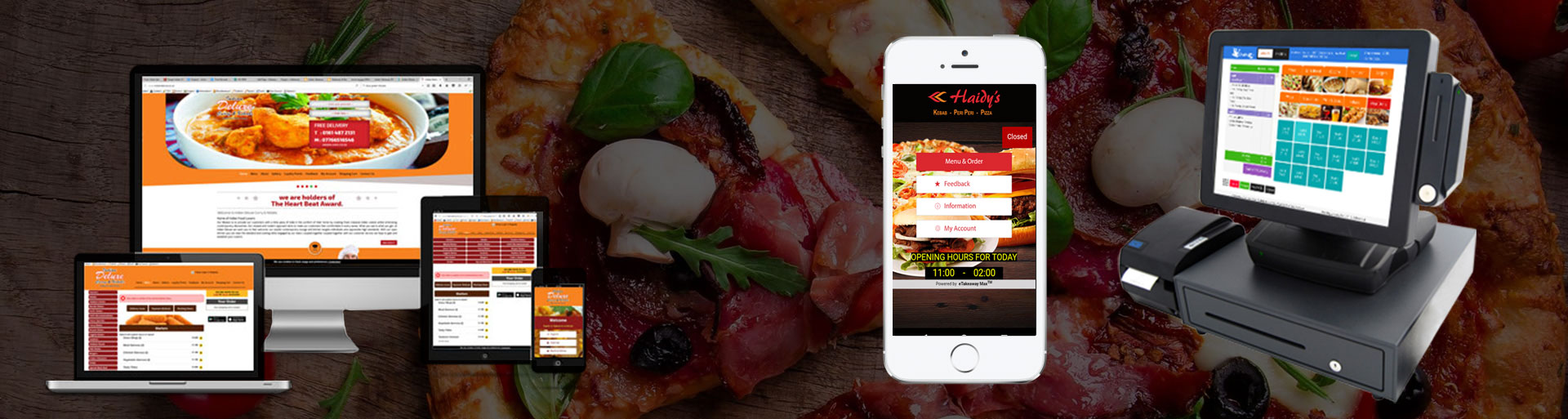 Pizza Online Ordering System