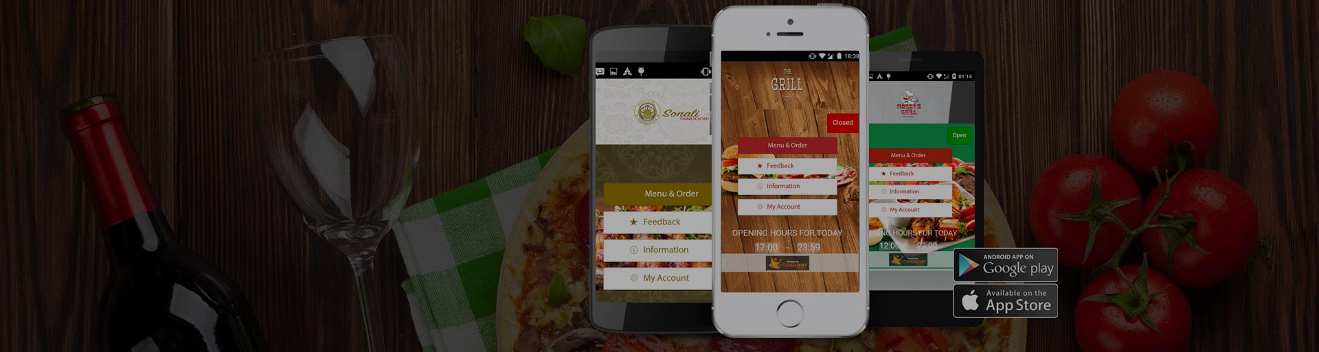 Takeaway Food Ordering Mobile Apps
