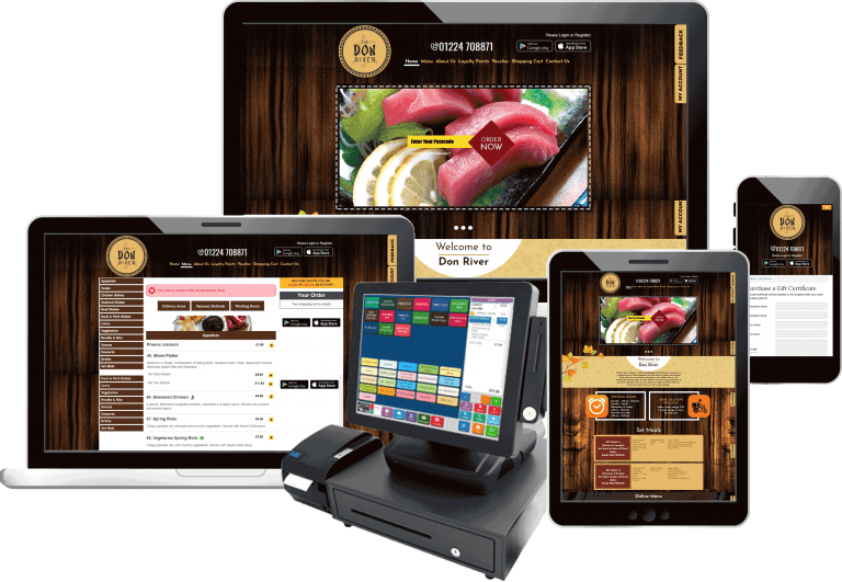 Takeaway Ordering Website