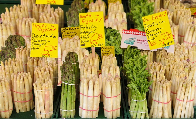 Asparagus Food Costs