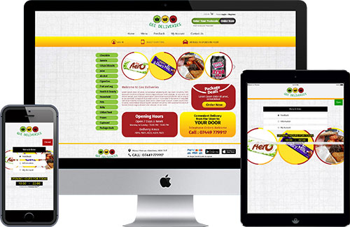 Grocery Online Ordering System