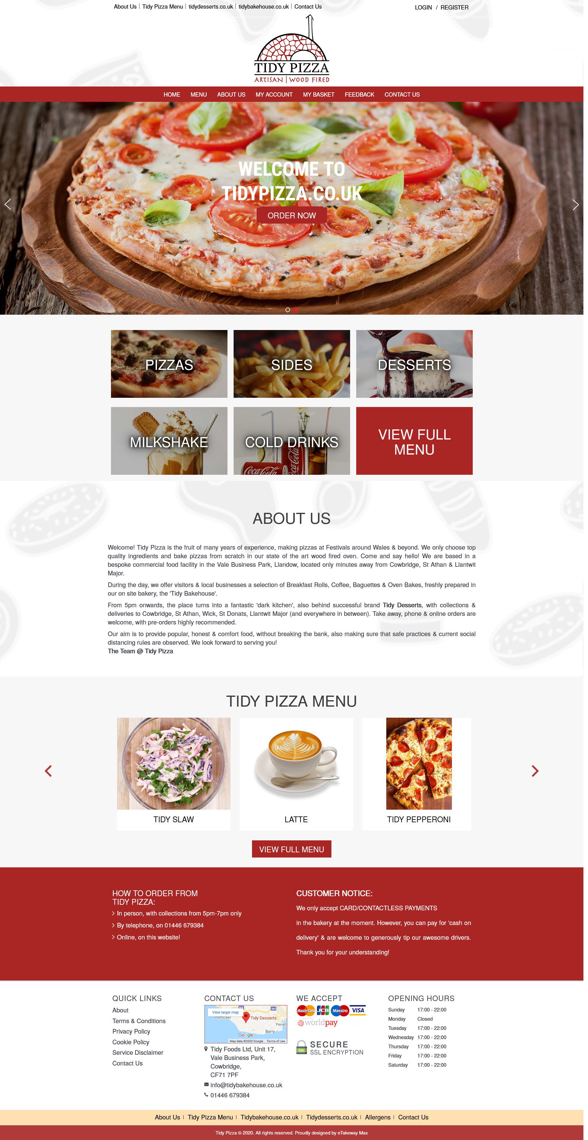 online food delivery web