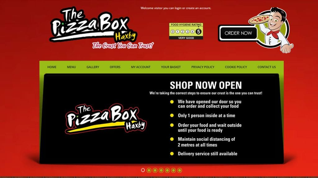 pizza epos delivery software