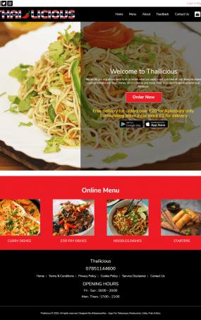 thailicious web