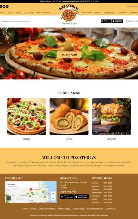 pizzaterian web